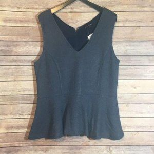 Banana Republic Peplum Sleeveless Tank Top Trendy